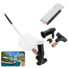 Pool Vacuum Cleaner Swimming Pool Vacuum Jet  Sections Suction Tips Cleaning~