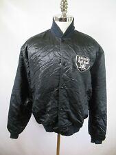 E9085 VTG STARTER Oakland Raiders NFL Football Jacket Size XL