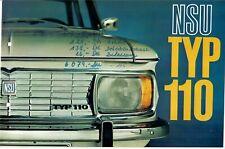 Prospekt NSU Typ 110 v. 1966
