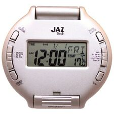 JAZ G-9044 DESPERTADOR  DIGITAL DE VIAJE  ALARMA, LUZ Y REPETICION 10898