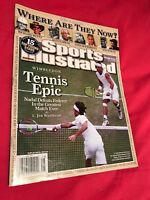 **ROGER FEDERER RAFAEL NADAL US SPORTS ILLUSTRATED MAGAZINE - WIMBLEDON TENNIS**