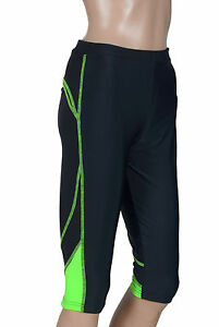 Zimco Elite Women Compression Knicker Base Layer Running Skin 3/4 Tight Pant1085
