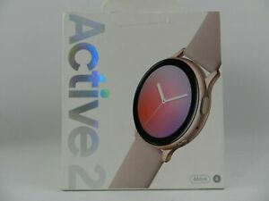 Samsung Galaxy Watch Active 2 SM-R820 44mm Aluminum Case Sports Band Pink Gold