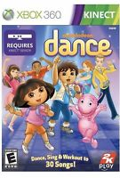 Nickelodeon Dance Xbox 360 Kinect Game For Kids- Dora The Explorer Workout 1