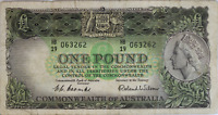 Australia 1 Pound Note - 1953 Issue [Coombs/Wilson] - Choice Fine Condition