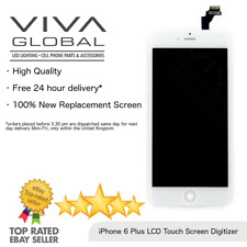 """For iPhone 6 Plus 5.5"""" Display Touch Screen Digitizer LCD Replacement In White"""