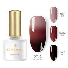 BORN PRETTY Nail Art UV Gel Polish Soak Off Top Base Coat Multi-color Varnish