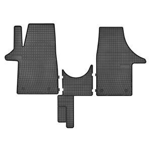 passend für VW T5 / T6 Gummifußmatten Fussmatten 1.Sitzreihe ab Baujahr 2003 -