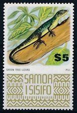 [38500] Samoa Green tree Lizard Good stamp Very Fine MNH