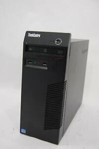 Lenovo ThinkCentre M72E Tower Core i5-3470 3.2Ghz 8GB DDR3 RAM 500GB Windows 10