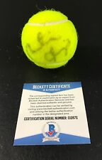 MARTINA HINGIS SIGNED AUTHENTIC AUTOGRAPH WIMBLEDON TENNIS BALL BECKETT COA D