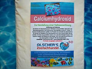 Calciumhydroxid für Calciumlösung Kalkwasserlösung Calciumanhebung im Salzwasser