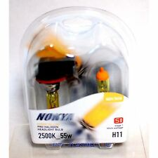 Nokya H11 Hyper Yellow Stage 1 Headlight Halogen Light Bulb - Honda Fog Light