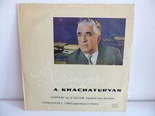 A. KHACHATURYAN Symphonie N°3 Gayane 33 08940 mono ty 16 urss