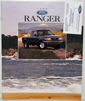 1996 Ford Ranger Sales Brochure with Business Card
