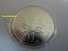 Canada 5 $Maple Leaf nei Pisa 1 OZ 999,9 ARGENTO 2012 * * SOLO 50.000 ex. * *
