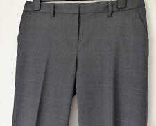 GAP Smart Grey Trousers, 50% Wool, Size UK 12, Wide Leg, in EUC (Hardly Worn!)