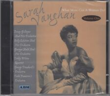 "Sarah Vaughan ""What More Can A Woman Do? V1"" NEW & SEALED - 1st Class Post UK"