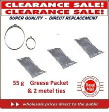 55g -THREE PACKET OF GREASE & 2 METAL STRIP  LUBRICATION CV JOINT BALL JOINT