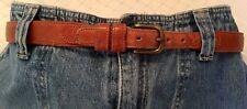 "Coach Natural Leather Belt 28"" -70cm"
