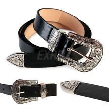 Vogue Women Ladies Vintage Metal Boho Leather Single Buckle Waist Belt Waistband