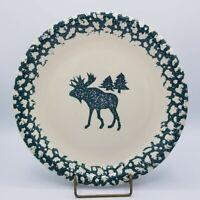 """Tienshan Folkcraft MOOSE COUNTRY Dinner Plate 7 3/4"""" Salad Plate Set of 2"""