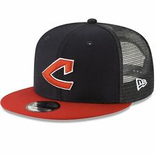 Cleveland Indians New Era 9Fifty Cooperstown Snapback Adjustable Cap Hat $32