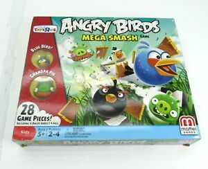 Angry Bird Mega Smash Game Mattel Toys R Us All Pieces Missing Manual
