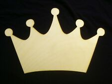 Princess Crown Unfinished Mdf Craft 24in x 17in inches Diy wall decor Crown