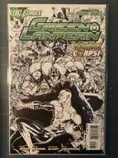 Green Lantern 2011 New52 #3 NM+ 1:200 Sketch Variant! CGC Candidate!