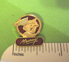 MERCURY  emblem  - Hat pin , lapel pin , tie tac , hatpin badge (red) GIFT BOXED