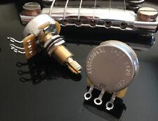 2X CTS TAOT CUSTOM 500K Pot LONG Split Shaft Audio Taper - 10% Tolerance