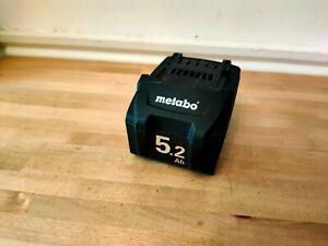Metabo  18v Li-Power 5.2Ah Li-Ion Battery