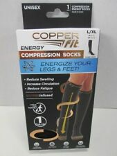 Copper Fit Copper Infused  Compression Socks UNISEX SIZE LGXL BRAND NEW