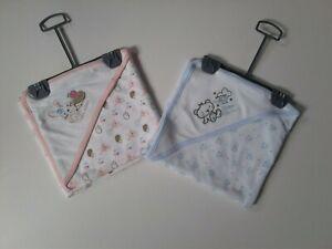 Premature Baby boys girls hooded towel 3-5 lbs 5-8 lbs New