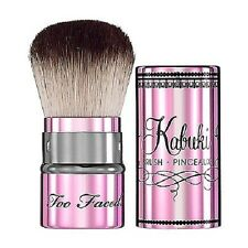 TOO FACED Limited Edition Teddy Bear Retractable Kabuki Makeup Brush NEW $36