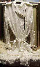 HAIDER ACKERMANN Belted Zip Coat Size 36 - 4 US $3290