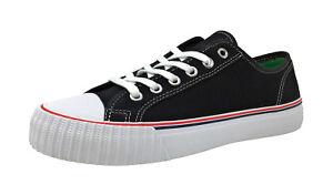 PF Flyers Men's Center Lo Shoes MC2002BL - Black/White