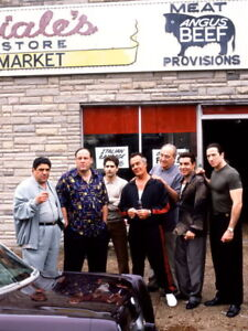 Reprint For The Sopranos Mafia Gangsters TV Series Gigantic HD Print POSTER