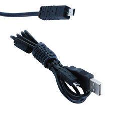 HQRP USB Cable for Sony Cyber-shot DSC-W320 DSC-W620 DSC-W630 DSC-S950 DSC-W830