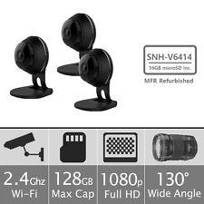 (Manufacturer Refurbished) Samsung SNH-V6414BN IP Camera w/ 16GB SD Card 3 Pack