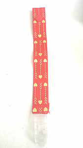 Dummy Clip (1) - Red with Gold Arrows (DC95)