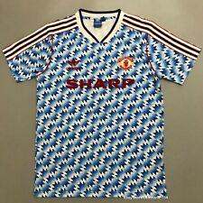 1990-92 Man Utd Away Classic Retro Football Shirt Vintage Soccer Jersey Giggs#11