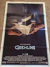 Gremlins Advanced 27x41 original one sheet movie poster Stephen Spielberg