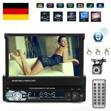 "7"" 1DIN Bluetooth Autoradio Stereo FM USB TF AUX IOS/Android MP5 Player + Camera"