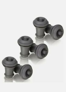Vacu Vin Wine Saver Spare Bottle Stoppers (Pack of 6)