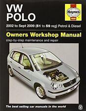 VW Polo Petrol and Diesel Owner's Workshop Manual (Haynes (PB) 0857336207