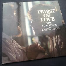 Joseph James PRIEST OF LOVE soundtrack LP 81 D.H. Lawrence Varese Gardner Suzman