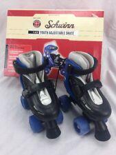 Schwinn Flash Youth adjustable Roller Skate size 10-13 Blue New in Box