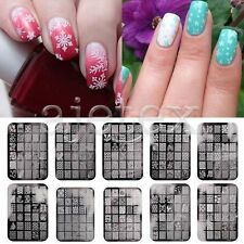 Unbranded Shiny Nail Art Stamping Plates